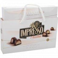 Подарочный набор шоколадных конфет «Impresso Premium» белый, 848 г.
