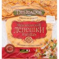 Лепешки пшеничные «Delicados» томатные, 400 г