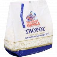 Творог «Деревенский» 5%, 0.4 кг.