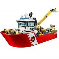 Конструктор «Lepin» Cities Sea fire boat, 02057