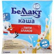 Молочная, сухая каша «Беллакт» из пяти злаков, 35 г.