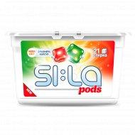 Капсулы для стирки «Pods» для цветного и белого белья, 21 шт.