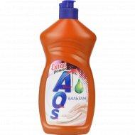 Средство для мытья посуды «AOS» Бальзам, 450 г.