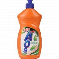 Средство для мытья посуды «AOS» Бальзам Алоэ Вера, 450 г.