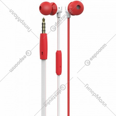 Наушники с микрофоном «Hoco» M27 Red White.