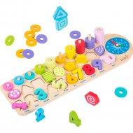 Головоломка «Boby» многофункциональная Обучающая игра, BB0228