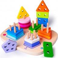 Головоломка «Boby» сортировка геометрических форм, BB0305