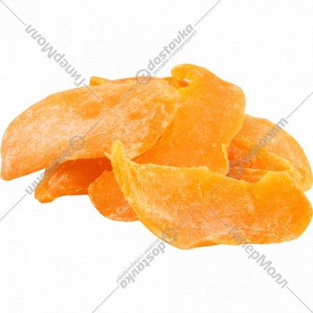 Манго сушеный с добавлением сахара., фасовка 0.2-0.3 кг