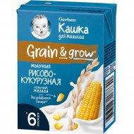 Каша молочная «Gerber» рисово-кукурузная, 200 г
