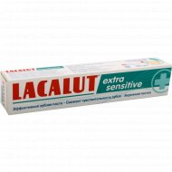 Зубная паста «Lacalut»Extra sensitive, 50 мл.