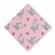 Салфетки бумажные «Paterra» слоники, 33х33 см, 20 шт.