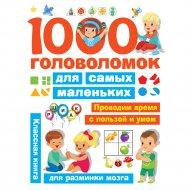 Книга «1000 головоломок для самых маленьких» Дмитриева В.Г.