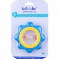 Погремушка-прорезыватель «Bebe D'or» охлаждающий, 3+.