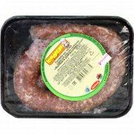 Полуфабрикат мясной рубленый «Колбаса Домашняя» сырая, 400 г.