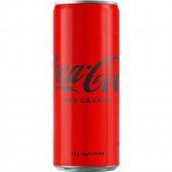 Напиток «Coca-Cola» без сахара, 0.33 л