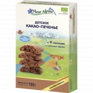 Печенье детское «Fleur Alpine» с какао, 150 г