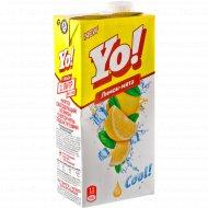 Напиток сокосодержащий «YO!» со вкусом мяты, 1 л.