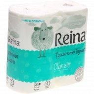 Туалетная бумага «Reina» рулонная, 4 шт.