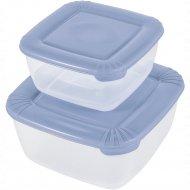 Набор емкостей для хранения пищевых продуктов «Polar» квадратных, 2 шт.