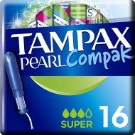 Женские гигиенические тампоны «Tampax Compak Pearl» 16 шт.