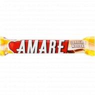 Конфета вафельная «Amare» топленое молоко, в молочном шоколаде, 45 г.