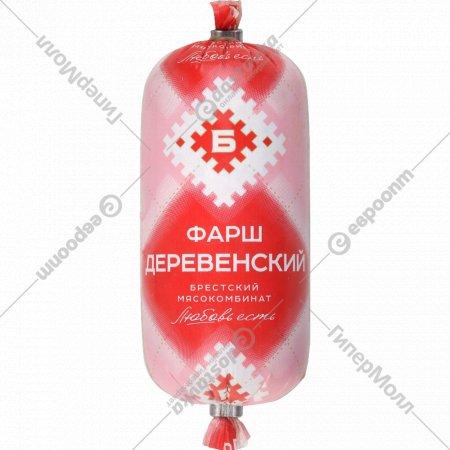 Фарш соленый «Деревенский» замороженный, 300 г.