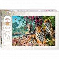 Пазл «Step Puzzle» 83054 «Тигры»