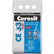 Фуга «Ceresit» СЕ 33, карамель, 2 кг