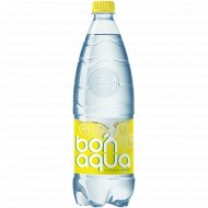 Вода питьевая газированная «Bonaqua» лимон, 1 л.