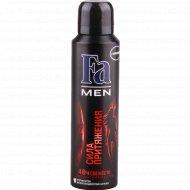 Дезодорант и спрей для тела «Fa» Men, сила притяжения, 150 мл.