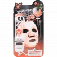 Тканевая маска «Elizavecca» с экстрактом красного женьшеня, 23 мл