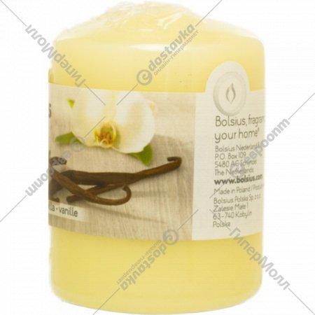 Свеча, 80х60 мм, с ароматом ванили.