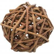 Игрушка для грызунов «Плетеный мяч» 6 см.