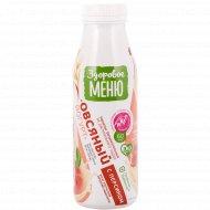 Йогурт овсяный «Здоровое меню» с персиком, 1.3%, 330 мл.