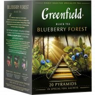 Чай «Greenfield» Blueberry Forest, 20 пакетиков.
