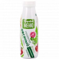 Йогурт овсяный «Здоровое меню» с клюквой, 1.3%, 330 мл.