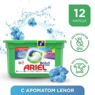 Капсулы для стирки «Ariel» Всё в 1 PODs touch of lenor color 12 шт