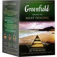 Чай зеленый «Greenfield» Milky Oolong, 20х1.8 г