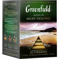 Чай «Greenfield» Milky oolong, 20 пакетиков.