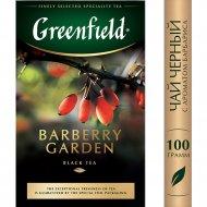 Чай черный «Grinfield» Барбери Гарден, 100 г.