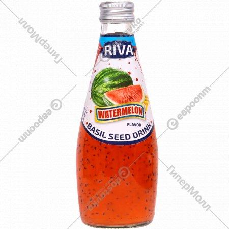 Напиток безалкогольный «Blue Riva» из семян базилика, арбуз, 0.29 л.