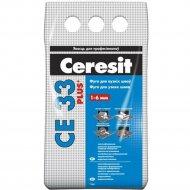 Фуга «Ceresit» СЕ 33, манхеттен, 2 кг