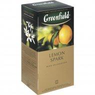 Чай чёрный «Greenfield» лимон, 25 пакетиков.