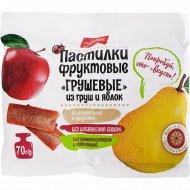 Пастилки фруктовые «Михаэлла» из груш и яблок, 70 г
