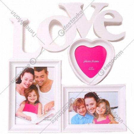 Рамка для фотографий «Love» 37х35 см.