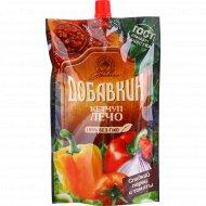 Кетчуп «Добавкин» лечо, сладкий перец и томаты, 350 г.
