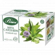Травяной чайный напиток «Biofix» мята с алоэ вера, 35 г.