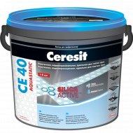 Фуга «Ceresit» СЕ 40, антрацит, 5 кг