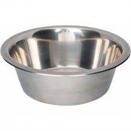 Миска «Trixie» из металла для собак , 24 см, 2.8 л.