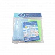 Набор салфеток для мытья окон из микрофибры 2 шт. 35 Х 35 см.